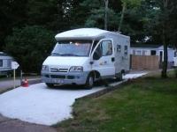 Piste de camping-car