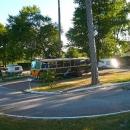 bus sur emplacement
